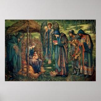 Edward Burne-Jones: Star of Bethlehem Poster