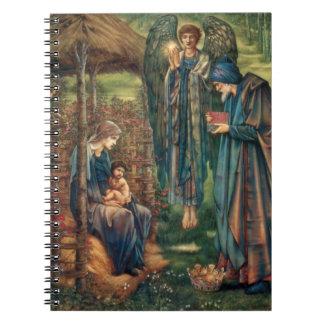 Edward Burne-Jones: Star of Bethlehem Spiral Notebook
