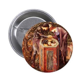 Edward Burne-Jones- The Baleful Head Button