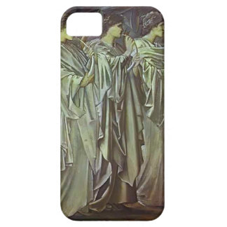Edward Burne-Jones-The Challenge in the Wilderness iPhone 5 Covers