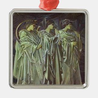 Edward Burne-Jones-The Challenge in the Wilderness Ornaments