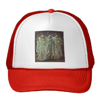 Edward Burne-Jones-The Challenge in the Wilderness Hat