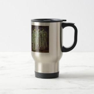 Edward Burne-Jones-The Challenge in the Wilderness Coffee Mug