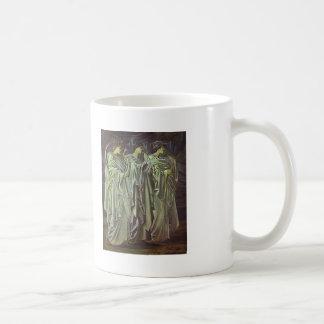 Edward Burne-Jones-The Challenge in the Wilderness Coffee Mugs