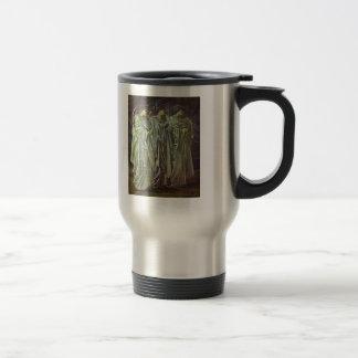 Edward Burne-Jones-The Challenge in the Wilderness Mugs