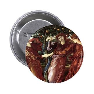 Edward Burne-Jones The Garden Of The Heserides Buttons