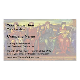 Edward Burne-Jones- The Hours Business Cards