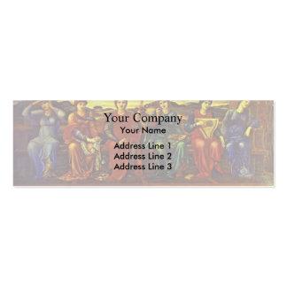 Edward Burne-Jones- The Hours Business Card Templates