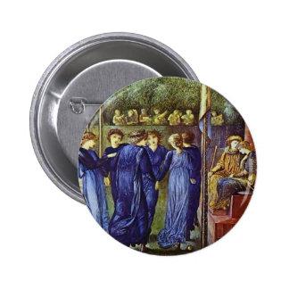 Edward Burne-Jones The King s Wedding Pinback Button