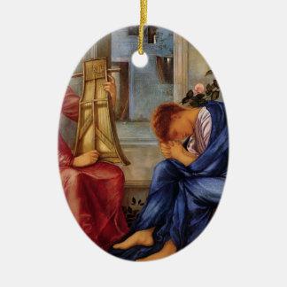Edward Burne-Jones- The Lament Christmas Ornament