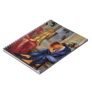 Edward Burne-Jones- The Lament Spiral Note Book