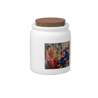 Edward Burne-Jones- The Lament Candy Dishes