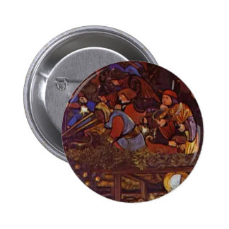 Edward Burne-Jones The Legend of St Frideswide Pin