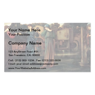 Edward Burne-Jones- The Mill Business Cards