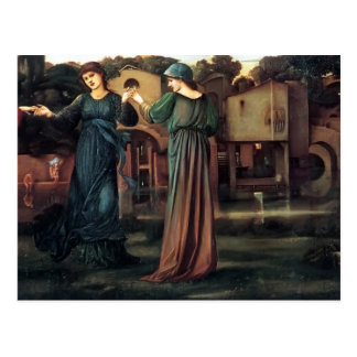Edward Burne-Jones- The Mill Postcard