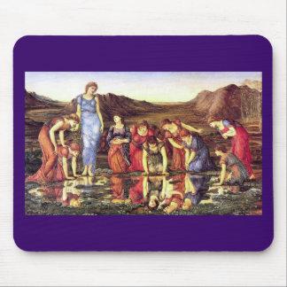 Edward Burne-Jones The Mirror of Venus Mouse Pad