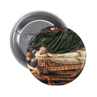 Edward Burne-Jones- The Sleaping Beauty Pins