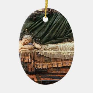 Edward Burne-Jones- The Sleaping Beauty Christmas Tree Ornaments