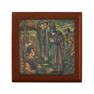 Edward Burne-Jones - The Star of Bethlehem Small Square Gift Box
