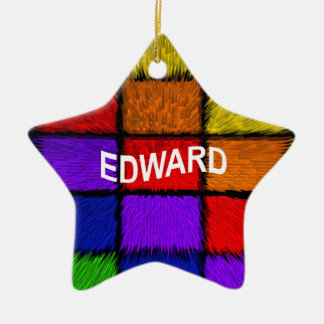 EDWARD CERAMIC ORNAMENT