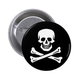 Edward England's Pirate 6 Cm Round Badge