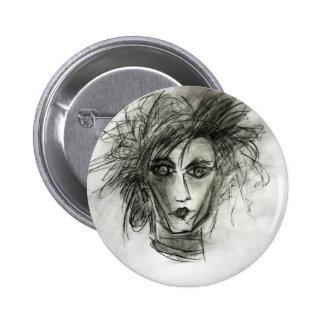 Edward Fantasy Movie Art Pin Badge Accessory