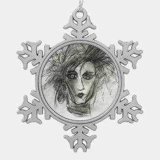 Edward Fantasy Movie Art Snowflake Decoration Ornaments