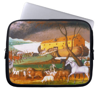 Edward Hicks Noah's Ark Laptop Sleeve