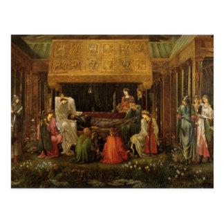 Edward Jones - Death of King Arthur Postcard
