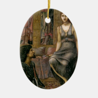 Edward -Jones- King Cophetua and the Beggar Maid Ceramic Ornament