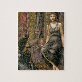 Edward -Jones- King Cophetua and the Beggar Maid Jigsaw Puzzle