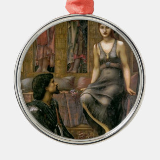 Edward -Jones- King Cophetua and the Beggar Maid Metal Ornament