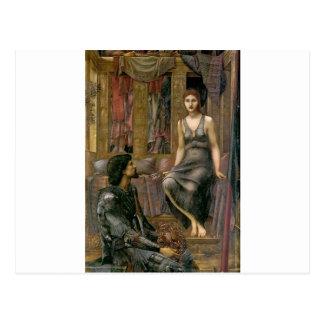 Edward -Jones- King Cophetua and the Beggar Maid Postcard