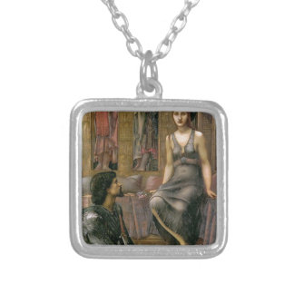 Edward -Jones- King Cophetua and the Beggar Maid Silver Plated Necklace