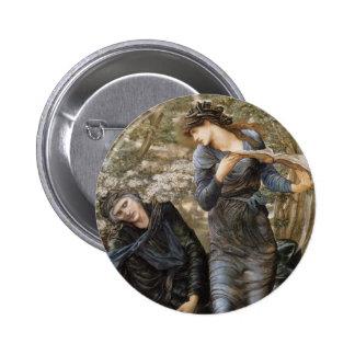 Edward Jones- The Beguiling of Merlin Pinback Button