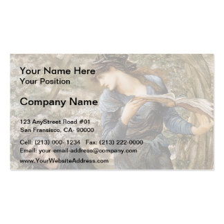 Edward Jones- The Beguiling of Merlin Business Card Templates