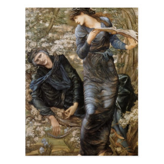 Edward Jones- The Beguiling of Merlin Postcard