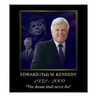 Edward Kennedy with Jack and Bobby Poster