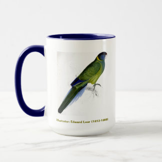 Edward Lear Bird Collection Bauers Parakeet Mug