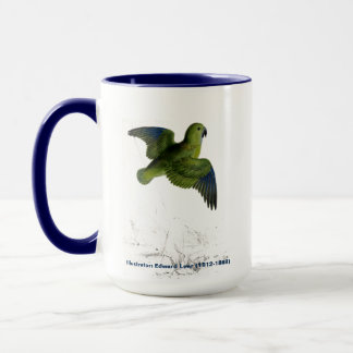 Edward Lear Bird Collection Collared Parakeet Mug