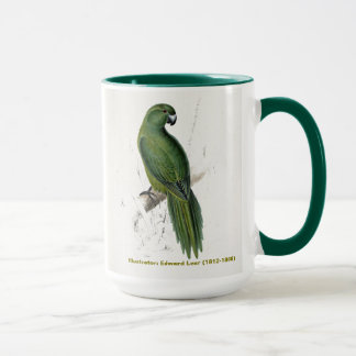 Edward Lear Bird Collection Uniform Parakeet Mug