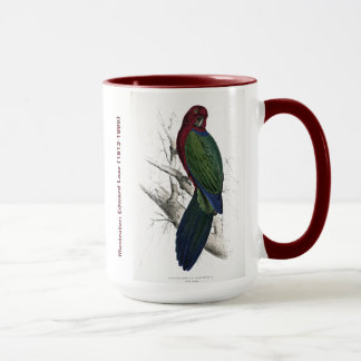 Edward Lear Bird CollectionTabuan Parakeet Mug