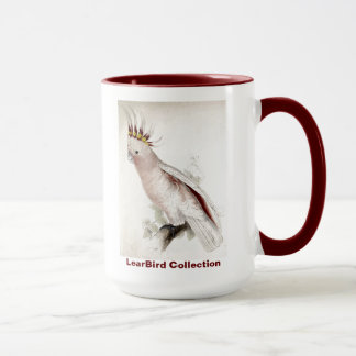 Edward Lear Bird Leadbeater's Cockatoo Mug