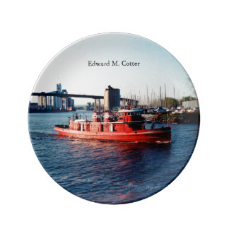 Edward M. Cotter decorative plate