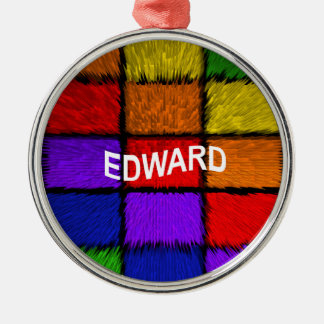 EDWARD METAL ORNAMENT