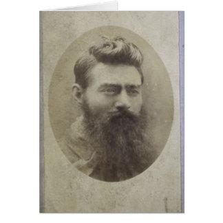 Edward (Ned) Kelly, age 25 Card