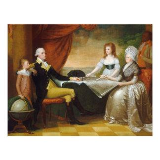 Edward Savage The Washington Family Flyers