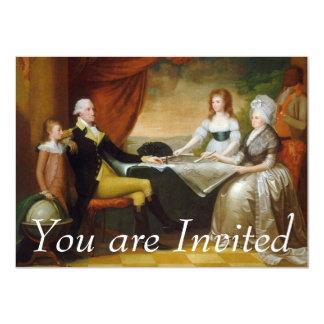 Edward Savage The Washington Family Personalized Invite