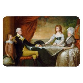 Edward Savage The Washington Family Rectangle Magnets