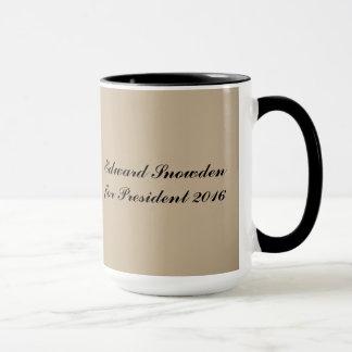 Edward Snowden for President 2016 Mug
